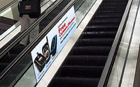 Escalator and Staircase Glass Panels