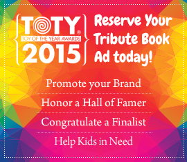 Reserve Ad Space Today for the TOTY Tribute Book