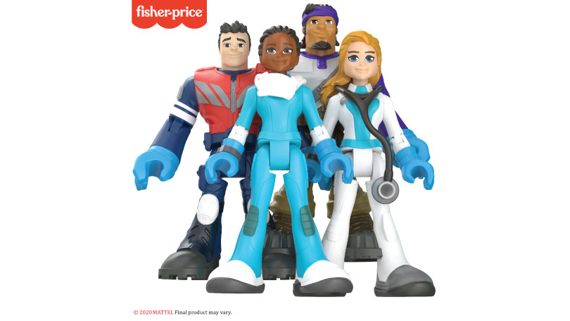 Fisher-Price #ThankYouHeroes Line